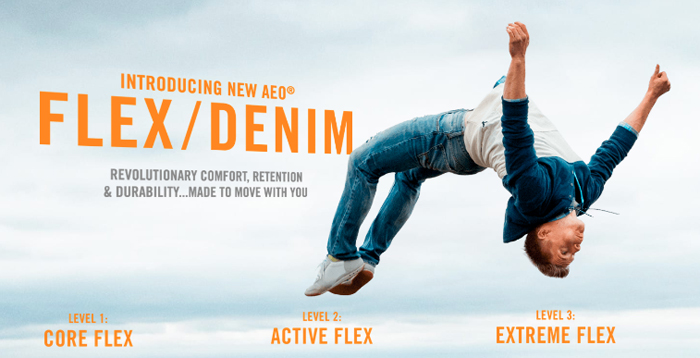 American Eagle Outfitters Introduces Flex/Denim for Men