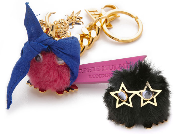 Bag Accessory Fun from Shopbop - Pom Poms