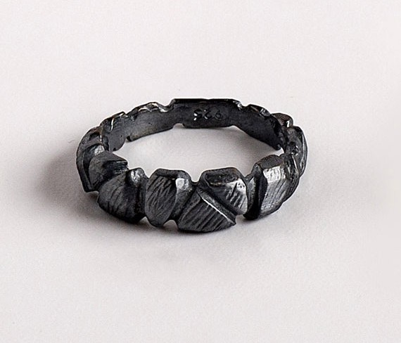 Favorite Finds from Etsy - Oxidized Silver Ring by TheFORMA