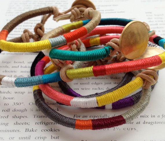 Favorite Finds from Etsy - Pocket Full of Sunshine Friendship Bracelet by TheLetterM