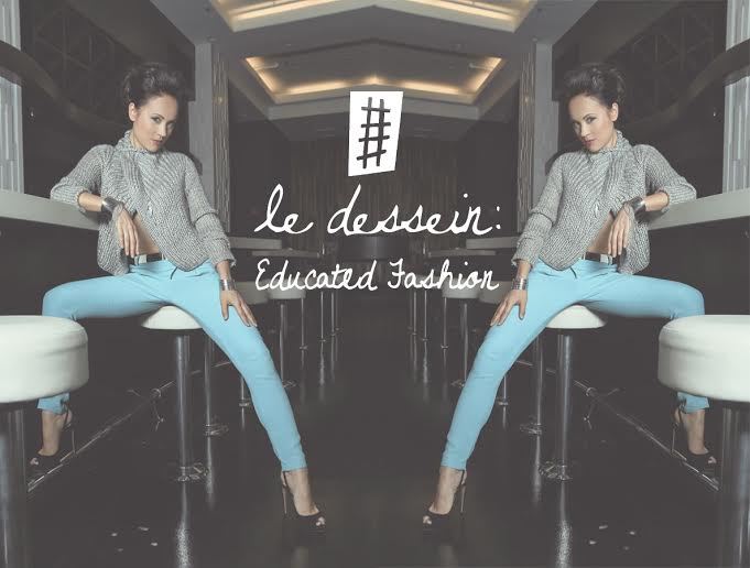 Le Dessein for Women's Education in the Developing World - Blue Pants
