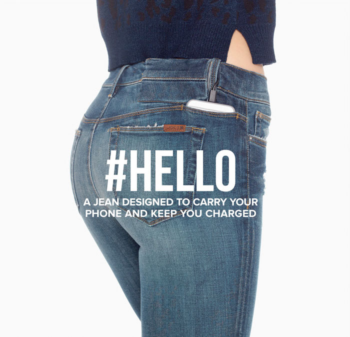Charge and Keep Your Phone Close with Joe's #HELLO Jean