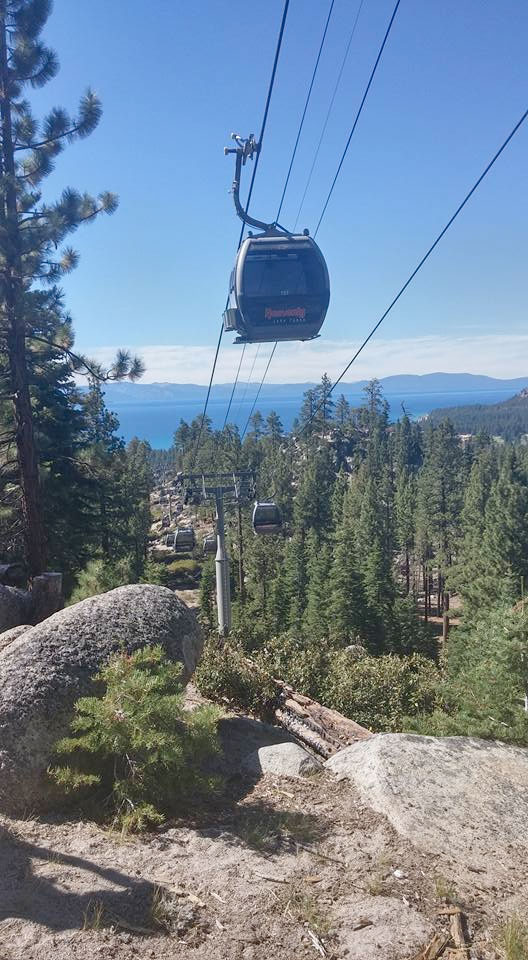 A Much Needed Vacation in Tahoe - Heavenly Gondola