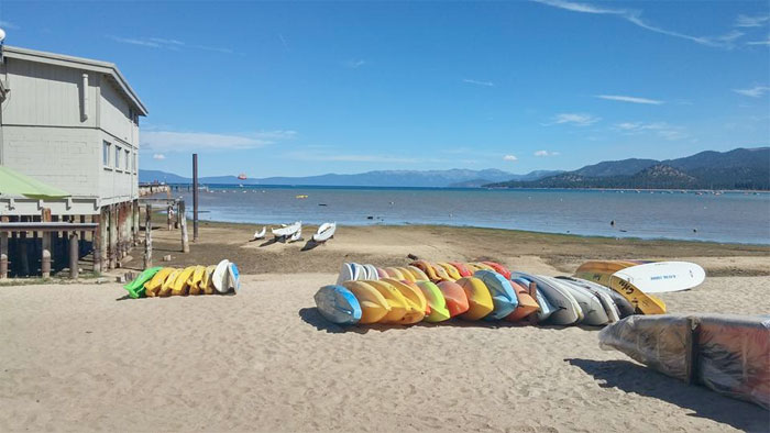 A Much Needed Vacation in Tahoe - Kayaks