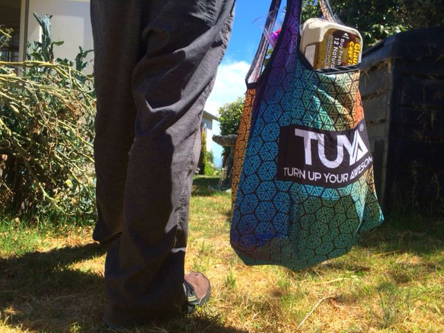 Turn Up Your Awesome with TUYA - Shopping Bag