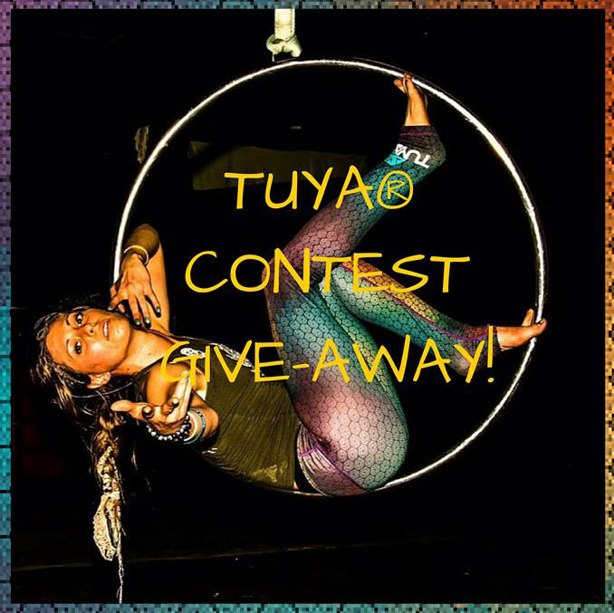 Turn Up Your Awesome with TUYA - Giveaway