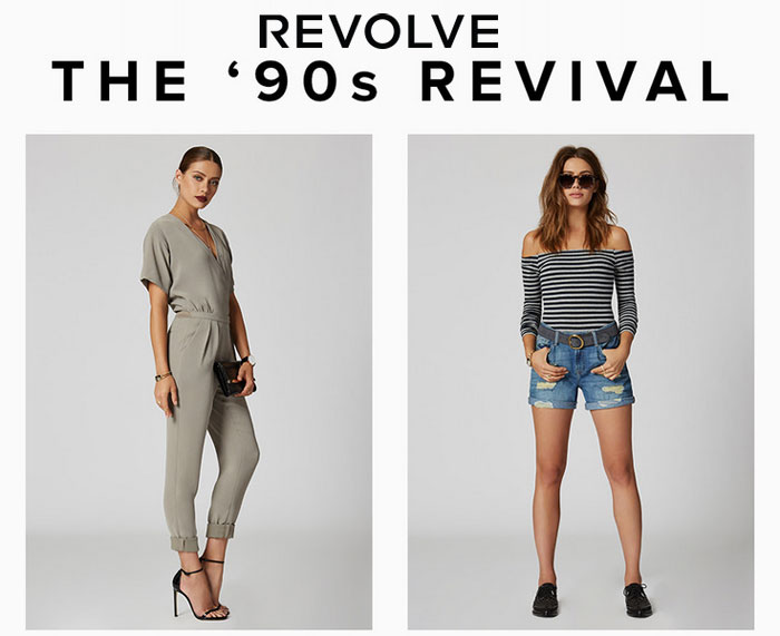 Return of the 90s at Revolve