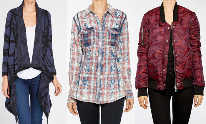 Edgy New Arrivals from BLANKNYC - Tops Wraps