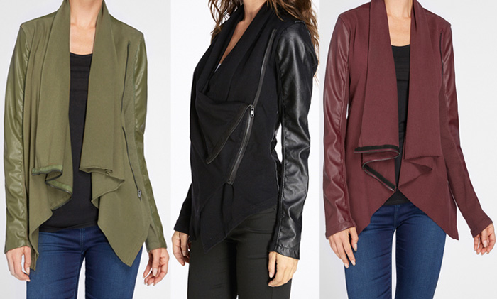 Edgy New Arrivals from BLANKNYC - Wrap Jackets