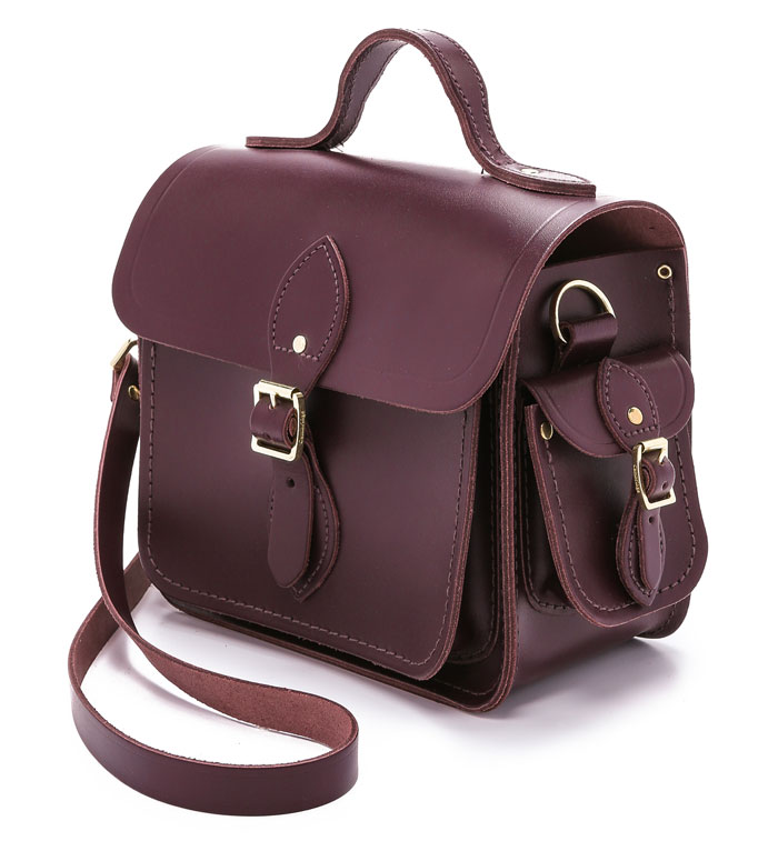 The Cambridge Satchel Company - Small Traveller in Port