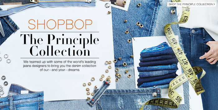 Shopbop Presents the Principle Denim Collection
