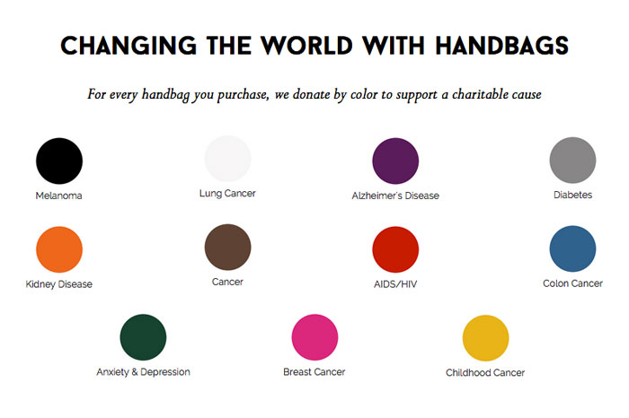 Changing The World with Angela Roi Handbags - Causes