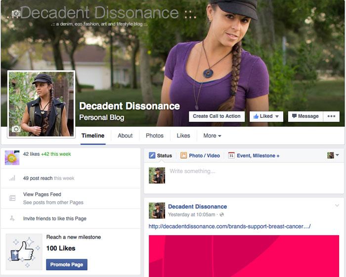 Decadent Dissonance on Facebook