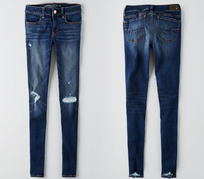 American Eagle Outfitters Releases Denim X Café - Jegging in Demitasse Indigo