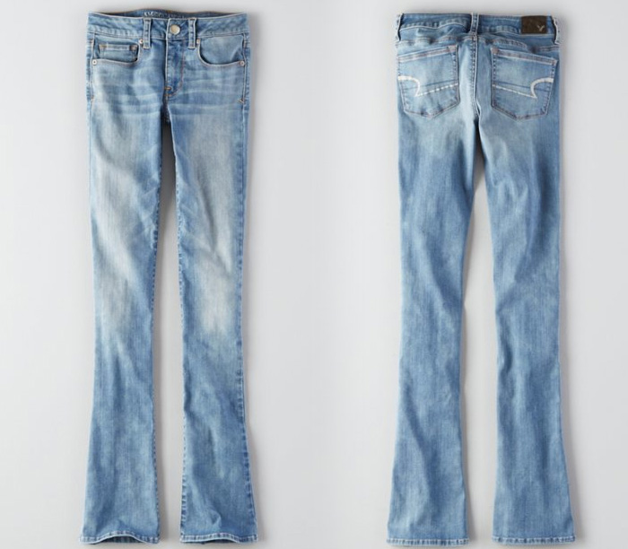 American Eagle Outfitters Releases Denim X Café - Skinny Kick Jean in Azure Aroma