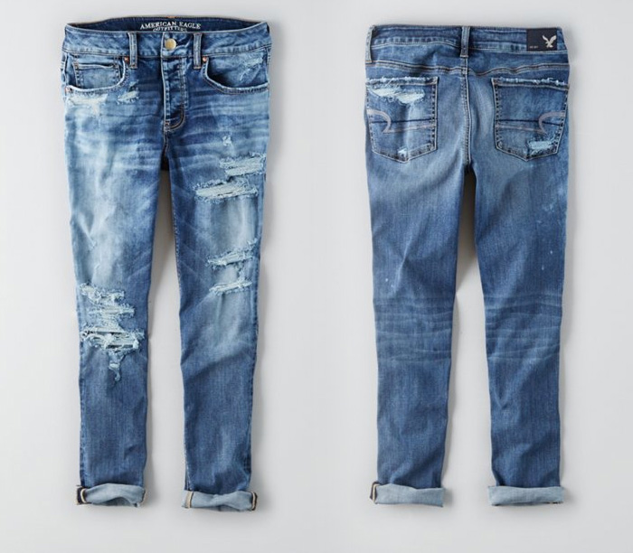 American Eagle Outfitters Releases Denim X Café - Tomgirl in Mellow Froth