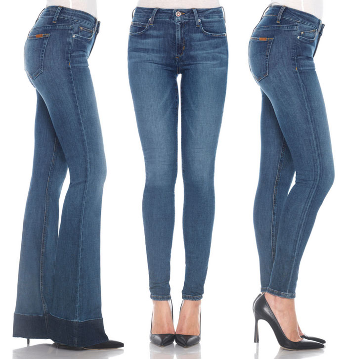 New Eco Friendly Denim at Joe's - Icon Flare, #HELLO, Vixen Ankle