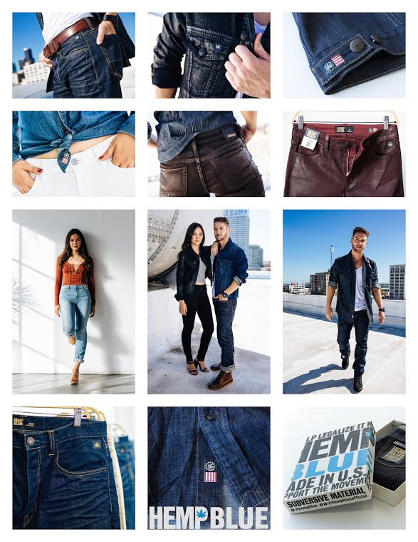 Hemp Blue for Sustainable Denim