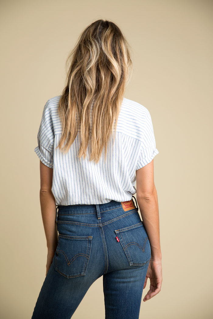 Levi's Introduces The Wedgie Jean