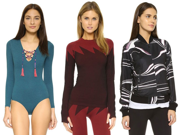 Resolution Worthy Activewear from Shopbop - Tops