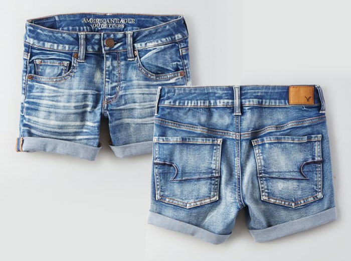 New Denim and Blues from AEO - Shorts
