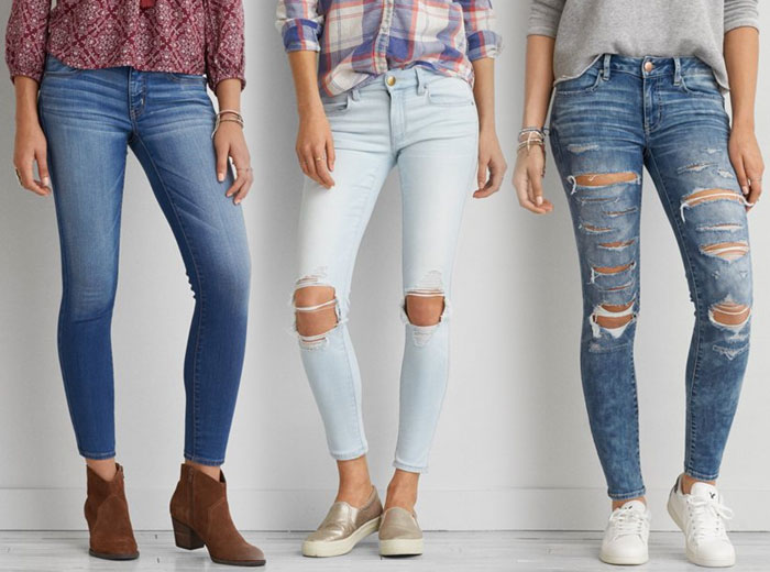 New Denim and Blues from AEO - Jeggings