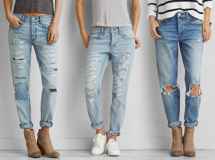 New Denim and Blues from AEO - Tomgirl Jean