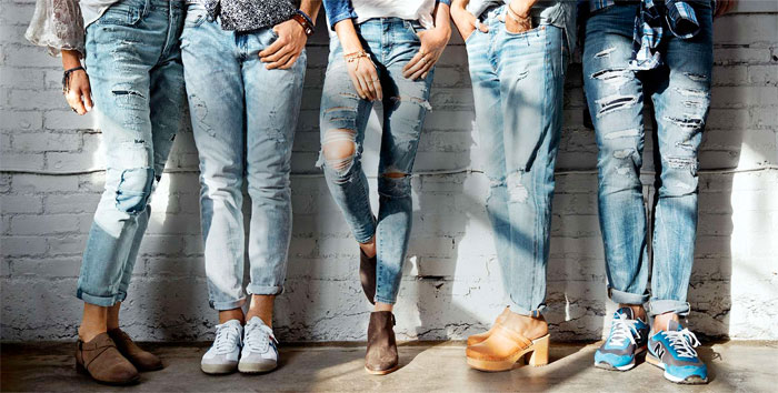 New Denim and Blues from AEO