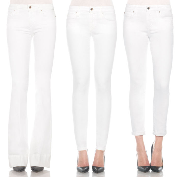 Stay Spotless in White Denim with JOE'S  - Jeans