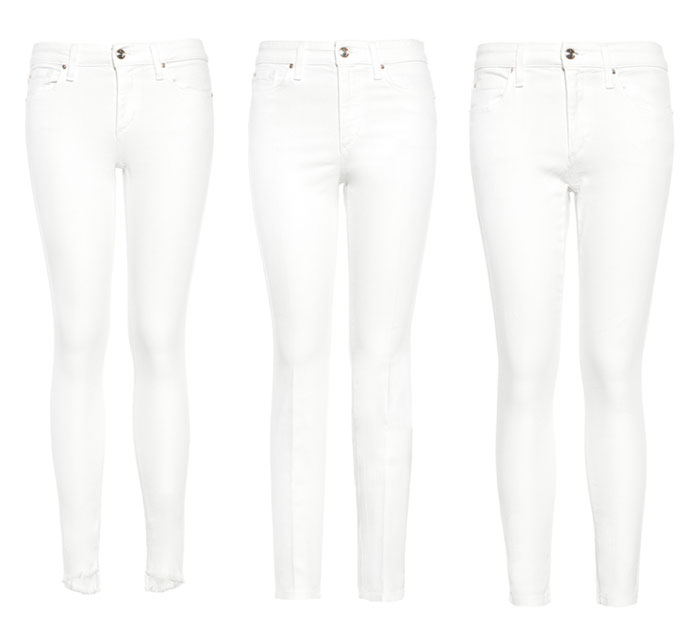 Stay Spotless in White Denim with JOE'S  - More Jeans