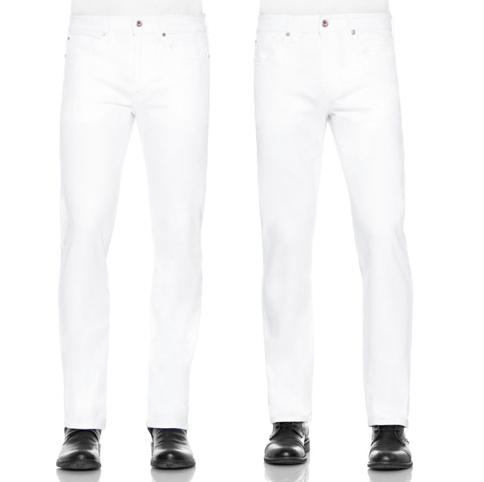 Stay Spotless in White Denim with JOE'S - Men's