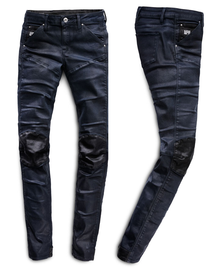 G-Star RAW Elwood 5620 jeans 20th Anniversary - Limited Edition Moto Women's 2