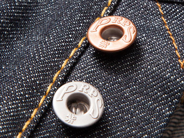 Win a Pair of PRPS Raw Selvedge Jeans at Denimology - Buttons