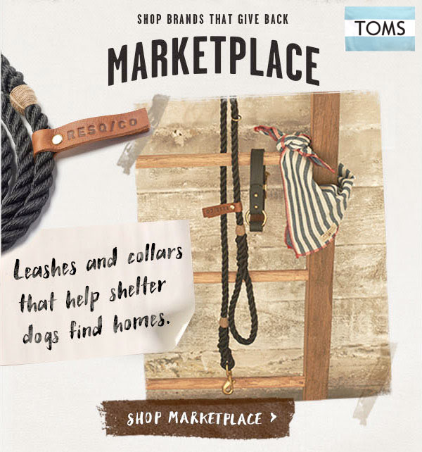 RESQ/CO for Shelter Animals at TOMS Marketplace