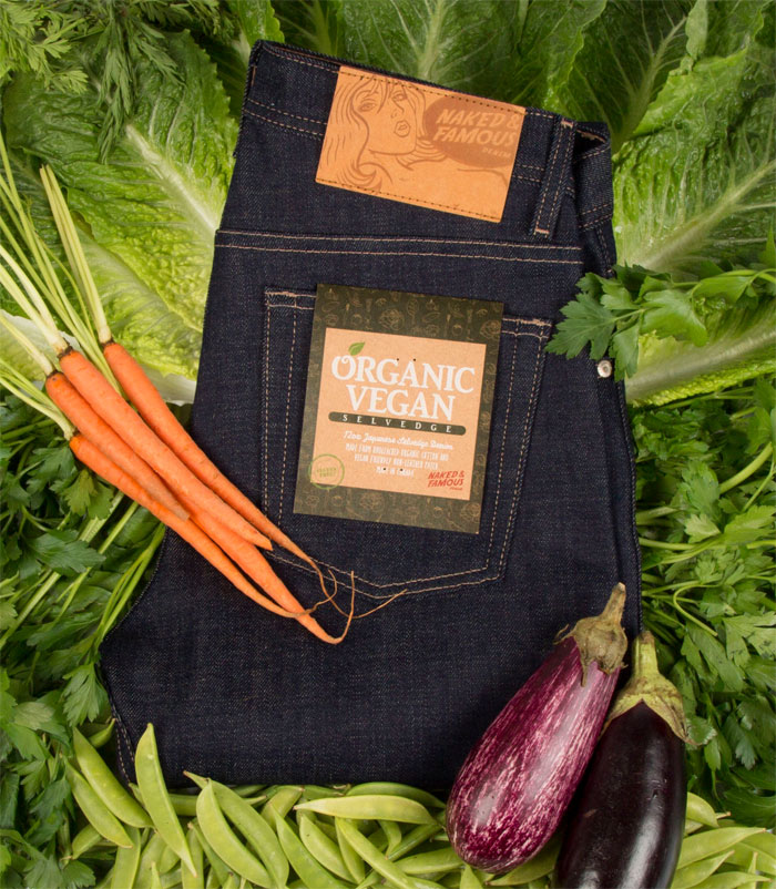Gluten Free Organic Vegan Selvedge Denim by Naked & Famous
