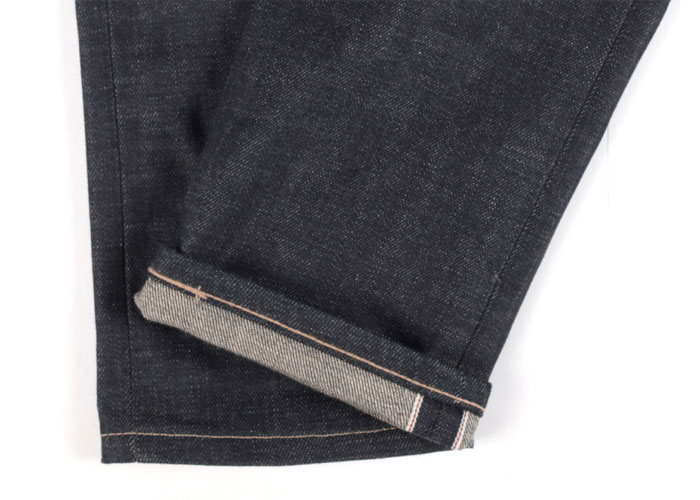 Gluten Free Organic Vegan Selvedge Denim by Naked & Famous - Cuff
