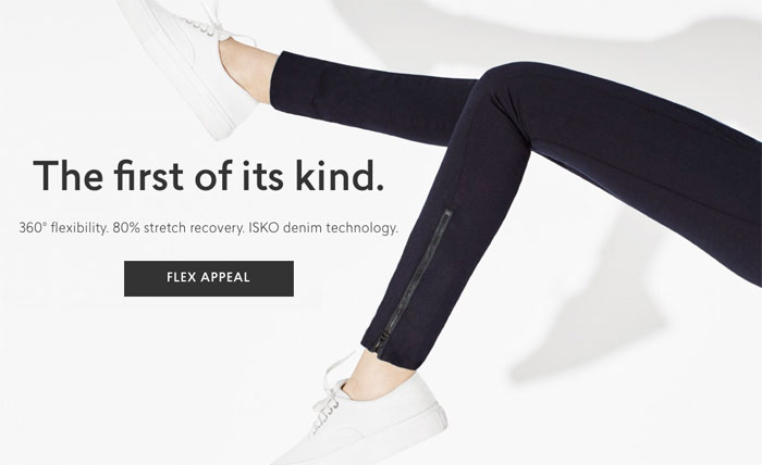 The New Flex Tech Jean from AYR and ISKO Premium Denim - First Of its Kind