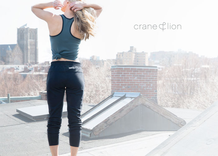 Transitional Activewear by Crane & Lion