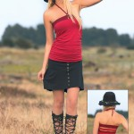 Spring Designs from Nomad's Hemp Wear - Aeon Tank and Minerva Skirt