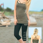 Spring Designs from Nomad's Hemp Wear - Aranea Tank and Exodus Leggings