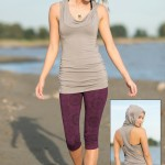Spring Designs from Nomad's Hemp Wear - Arcana Top and Spectrum Leggings
