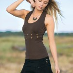 Spring Designs from Nomad's Hemp Wear - Decibel Tank and Absinth Skirt