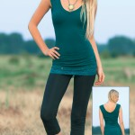 Spring Designs from Nomad's Hemp Wear - Faith Tunic and Minimal Leggings