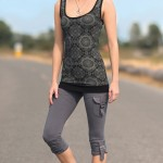 Spring Designs from Nomad's Hemp Wear - Mantra Tank and Exodus Leggings