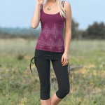 Spring Designs from Nomad's Hemp Wear - Nexus Tank and Rhythm Leggings