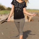 Spring Designs from Nomad's Hemp Wear - Shaman Tee and Indica Leggings
