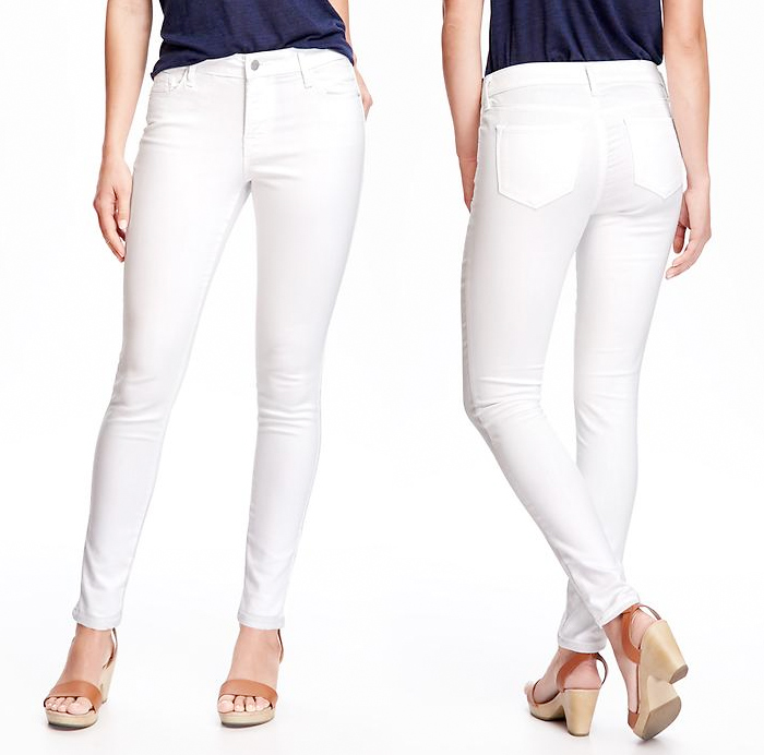 Old Navy Introduces Stain Repellent White Jeans