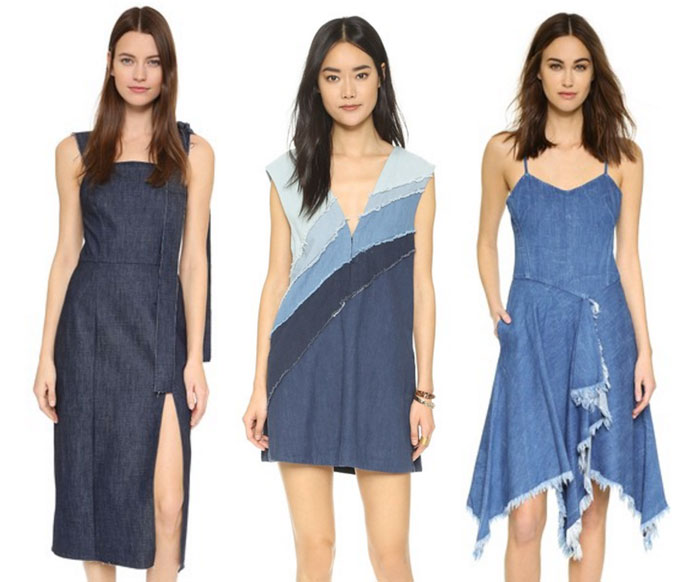 22 Unique Denim Pieces at Shopbop - Dresses