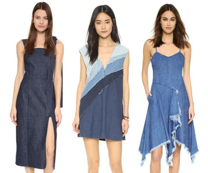 22 Unique Denim Pieces at Shopbop - Dresses