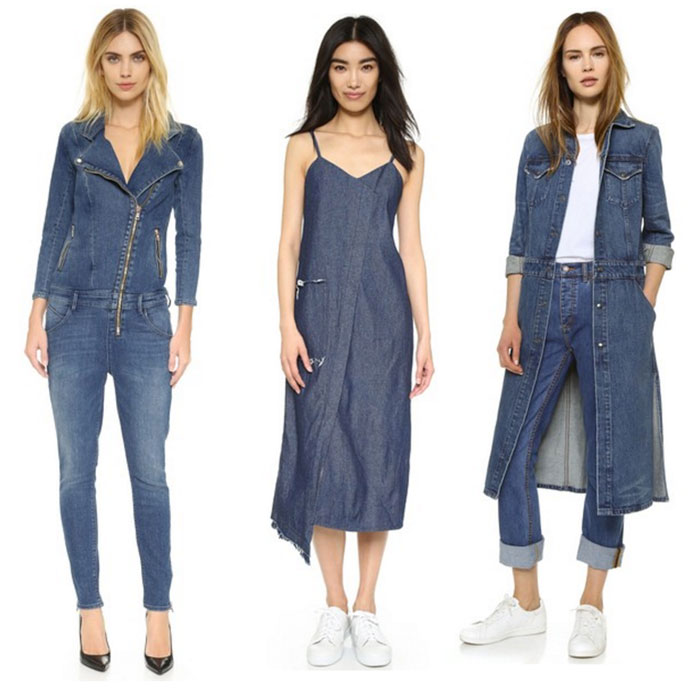 22 Unique Denim Pieces at Shopbop - Full Length